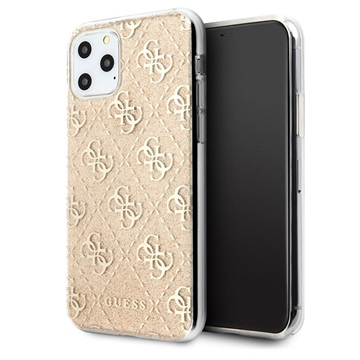 Guess 4G Glitter Collection iPhone 11 Pro Max Hülle