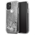 Guess Glitter Collection iPhone 11 Hülle - Silber