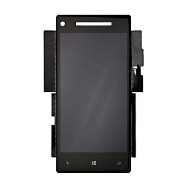 htc windows phone 8x lcd display schwarz. Black Bedroom Furniture Sets. Home Design Ideas