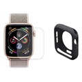 Hat Prince Apple Watch Series 5/4 Full Schutz-Set - 44mm - Schwarz
