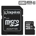 Kingston Canvas Select MicroSDHC Speicherkarte SDCS/16GB - 16GB