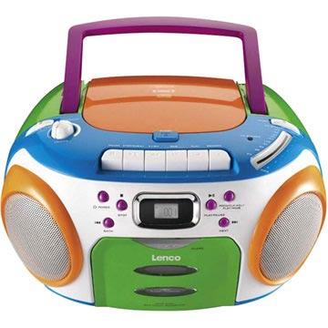 Lenco SCR-970 Kinder Tragbarer Musik-Player - CD / MP3 / WMA - Bunt