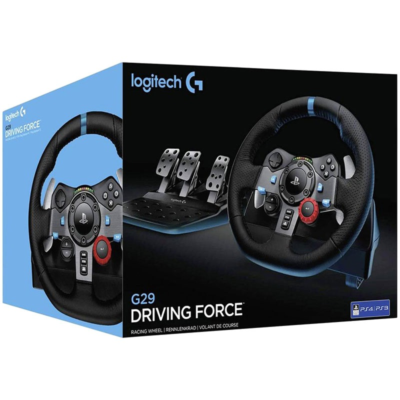 logitech g29 driving force racing lenkrad ps3 ps4 pc. Black Bedroom Furniture Sets. Home Design Ideas
