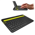 Logitech K480 Bluetooth Multi-Device Tastatur - Nordisches Layout - Schwarz