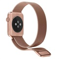 Apple Watch Series 5/4/3/2/1 Magnetisches Milanaise Armband - 44mm, 42mm - Roségold