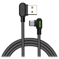 Mcdodo Night Elves 90-degree USB-C Kabel - 1.8m - Titanium Schwarz