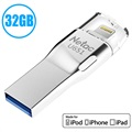 Netac U651 MFI Lightning / USB 3.0 USB-Stick - 32GB