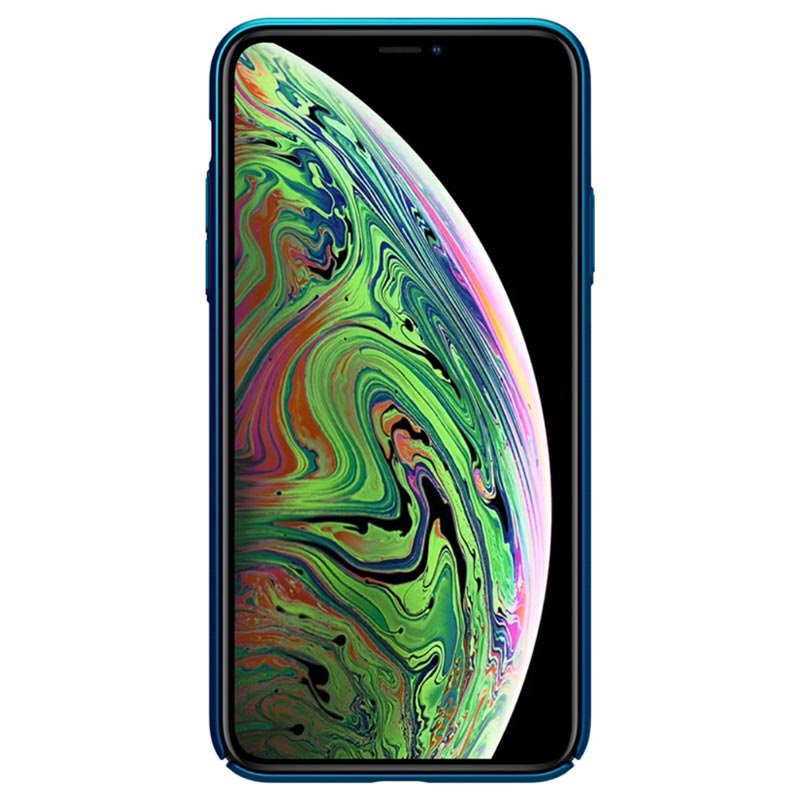 Nillkin Super Frosted Shield iPhone 11 Hülle - Blau
