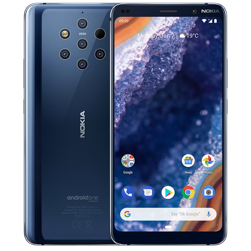Image result for nokia pureview 9.1