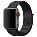 Apple Watch Series 5/4/3/2/1 Nylonarmband - 40mm, 38mm - Schwarz