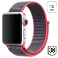 Apple Watch Series 5/4/3/2/1 Nylonarmband - 40mm, 38mm - Rot