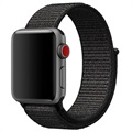 Apple Watch Series 5/4/3/2/1 Nylonarmband - 44mm, 42mm - Schwarz