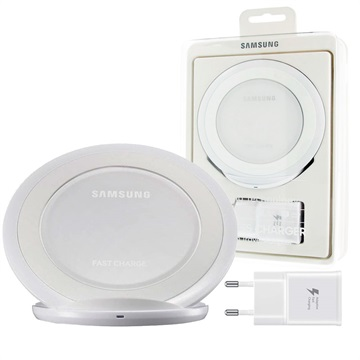 samsung induktives lade set mit schnellladefunktion ep ng930 wei. Black Bedroom Furniture Sets. Home Design Ideas