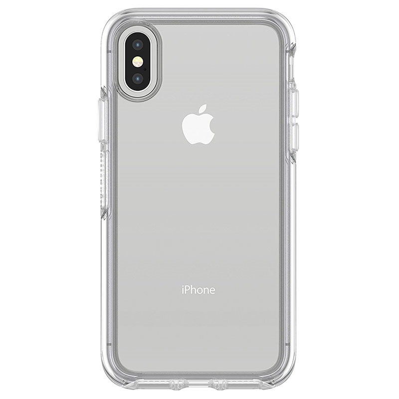 iphone x otterbox symmetry clear series h lle durchsichtig. Black Bedroom Furniture Sets. Home Design Ideas