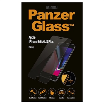 PanzerGlass Privacy iPhone 6/6S/7/8 Plus Panzerglas