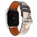 Apple Watch Series 5/4/3/2/1 Pattern Lederarmband - 42mm, 44mm
