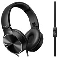 Pioneer SE-MJ722T-B Faltbares Over-Ear-Headset - 3,5mm
