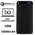 Puro 10000mAh Power Delivery Typ-C Powerbank - 18W