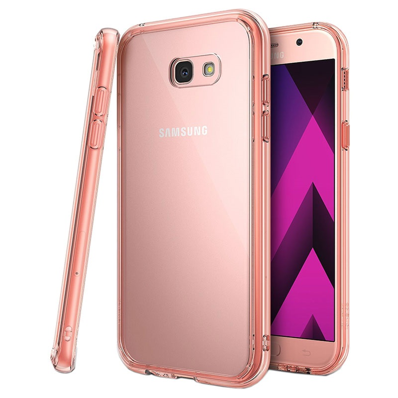 samsung galaxy a7 2017 ringke fusion cover ros gold. Black Bedroom Furniture Sets. Home Design Ideas