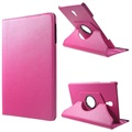 Samsung Galaxy Tab A 10.5 Rotierend Folio Hülle - Hot Pink