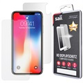 iPhone X Saii Premium HD Front & Back Panzerglas Schutz-Set