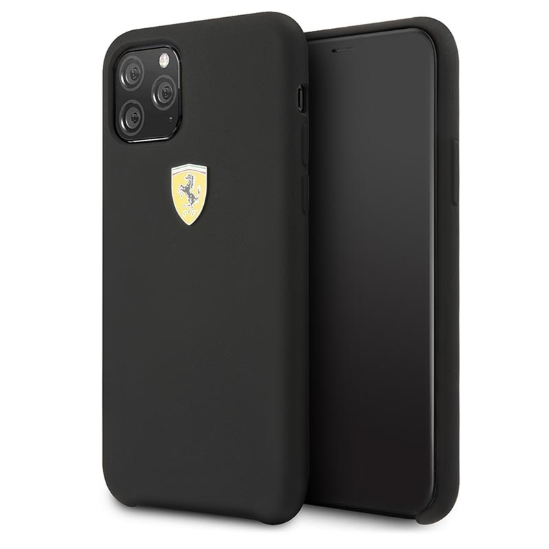 Scuderia Ferrari On Track Iphone 11 Pro Max Silikonhülle Schwarz