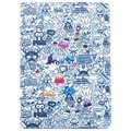 iPad Air 2 Smart Folio Tasche - Doodles