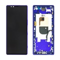 Sony Xperia 1 Oberschale & LCD Display 1319-0231 - Purpur