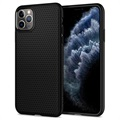 Spigen Liquid Air iPhone 11 Pro Max TPU Hülle - Schwarz