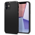 Spigen Liquid Air iPhone 12 Mini TPU Hülle - Schwarz