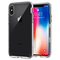 iPhone X Spigen Neo Hybrid Crystal Cover - Silber