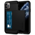 Spigen Slim Armor CS iPhone 11 Pro Cover - Schwarz