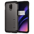 Spigen Tough Armor OnePlus 6T Cover - Gunmetal