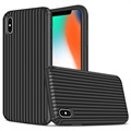 Suitcase Serie iPhone XS Max Hybrid Case