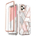 Supcase Cosmo iPhone 11 Pro Hybrid Hülle - Rosa Marmor