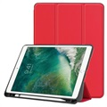 Tri-Fold Series iPad Air (2019) / iPad Pro 10.5 Folio Hülle - Rot