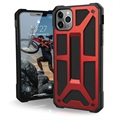 UAG Monarch iPhone 11 Pro Max Hybrid Hülle - Rot / Schwarz