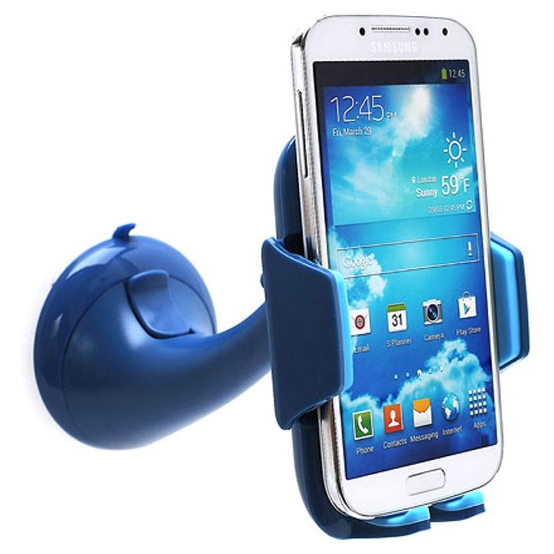 universal smartphone autohalterung blau. Black Bedroom Furniture Sets. Home Design Ideas