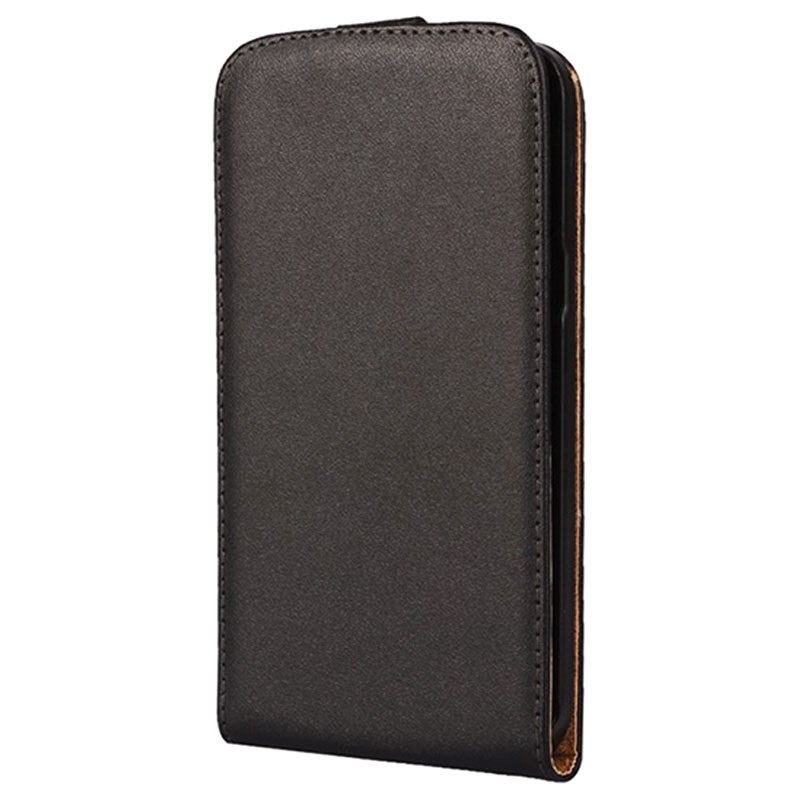 Samsung Tasche Leder Flip J52015Lotrechte Schwarz Galaxy WDY2EH9I