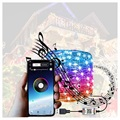 Wasserdichte Bluetooth LED String Lichterketten