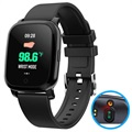 Wasserdichte Bluetooth Smartwatch m/ IR Thermometer CV06
