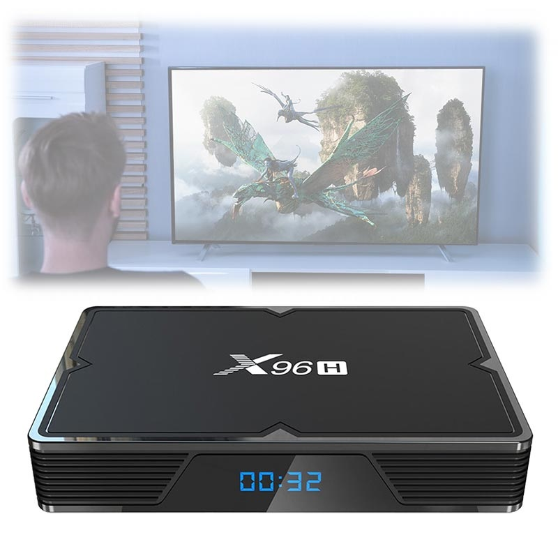 X96h Powerful 6k Tv Box Mit Android 9 0 4gb Ram 64gb Rom