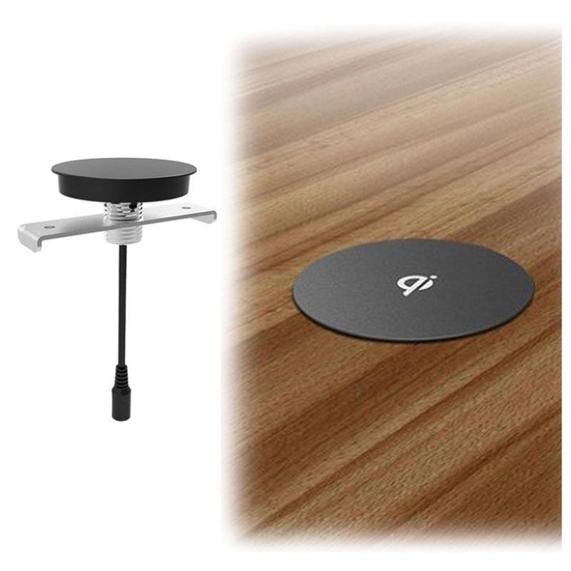 zens einbau kabelloses qi ladeger t inklusive lochs ge schwarz. Black Bedroom Furniture Sets. Home Design Ideas