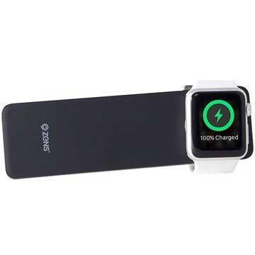 zens apple watch iphone powerbank qi ladeger t 4000mah. Black Bedroom Furniture Sets. Home Design Ideas