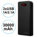 iMyMax Carbon MM-PB/006 2xUSB Powerbank - 30000mAh