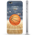 iPhone 5/5S/SE TPU Hülle - Basketball