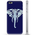iPhone 5/5S/SE TPU Hülle - Elefant