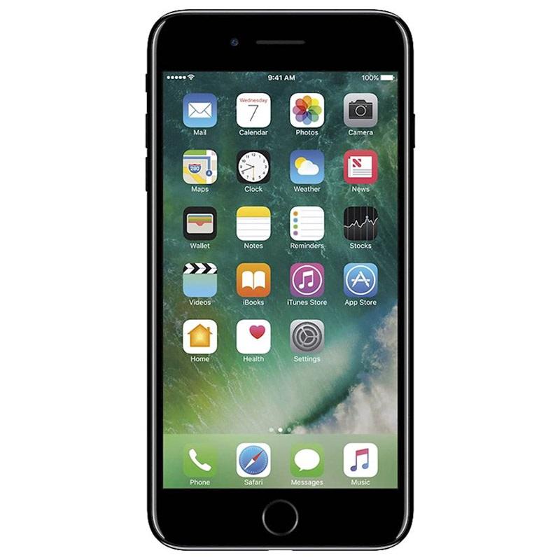 iphone 7 plus 128gb gebraucht g nstig zustand schwarz. Black Bedroom Furniture Sets. Home Design Ideas