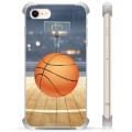 iPhone 7 / iPhone 8 Hybrid Hülle - Basketball