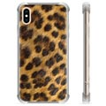 iPhone X / iPhone XS Hybrid Hülle - Leopard
